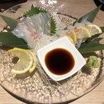 博多焼き鳥・野菜巻き・もつ鍋 かつぎや - 真鯛お造り
