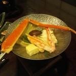 Sapporokaniya - かに一人鍋です