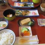 清津館 - 料理写真:朝食の初めのセット