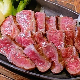 A4等級!「石垣牛のステーキ」