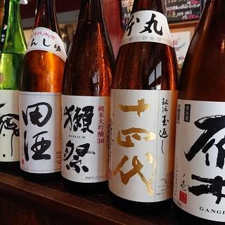 プレミアム日本酒あります!