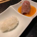 焼肉 いのうえ - 料理写真:すき焼き風