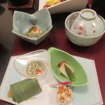 里湯昔話・雄山荘 - 前菜
