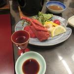 里湯昔話・雄山荘 - 海老サラダ