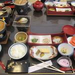 里湯昔話・雄山荘 - 朝食