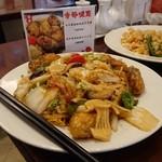 上海料理 寒舎 - かきのあんかけやきそば