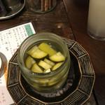路地裏アバンギャルド - 夏野菜のピクルス