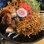 麺賊 夢我夢中 - 料理写真:辛まぜ豚基本