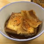 114309744 - いづみや 第二支店 「肉豆腐」250円(税込)
