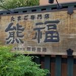熊福 - 看板
