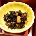 鯛めし魚然 - 宇和島鯛めし膳(¥980)のひじきの煮物