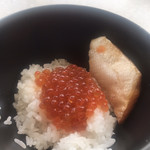 テンクウ - 朝食ビュッフェ2800円。最終弾。我慢できず、いくら丼を作っていただきました(笑) とーっても美味しかったです(╹◡╹)