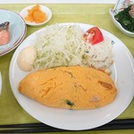 キッチンマルシェ - 料理写真:オムレツ定食