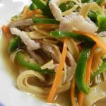 万里長城 - 干し豆腐は湯葉的。好きです!