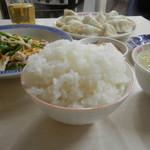 万里長城 - ご飯。デフォでこの山盛り