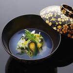 青山浅田 - 蛤と蕨