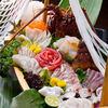 瓢亭 - 料理写真:瓢亭名物「舟盛り」 季節の鮮魚を心行くまで味わってください。