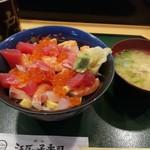 成田江戸ッ子寿司 - ばらちらし丼
