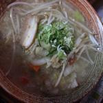 らーめん 一心 - 料理写真:野菜ラーメン塩味