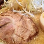 つじ田 味噌の章 - 味玉バリ味噌ラーメン 950円