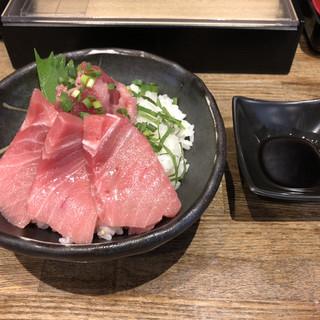 喜多方食堂 麺や 玄 - 料理写真:マグロ丼set350円税別