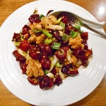 中華麺食堂かなみ屋 - 料理写真:激辛!辣子鶏汁なし担々麺