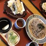 金沢なごみ亭 北都 - 天ざるセット¥1.460-