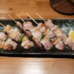 ティーズキッチン - 料理写真:ある日はラッキー!限定豚バラ串