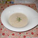 11433471 - 椎茸のスープ (生パスタランチ)