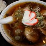 中華そば大石家 - チャーシュー麺 ¥1000 ライス並¥150