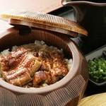なもバー - 愛知県三河一色産の鰻使用のひつまぶし