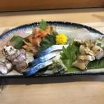 武寿司 - 料理写真:刺身盛り合わせ