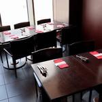 バル デ エスパーニャ ムイ - 窓際の個室テーブル席