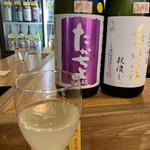 立呑み「最」 - たかちよSPARK(グラス)♡¥550(税込)