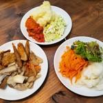 下野農園 - 料理写真:サラダバー