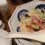 リンガーハット プレミアム  - 料理写真:プレミアム長崎ちゃんぽん