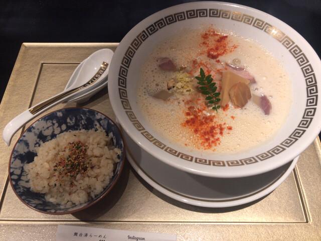 Maru de Sankaku 鯛白湯らーめん>