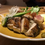 鶏と野菜 炭焼 ひさどり - 高坂鶏むねたたき