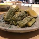 鶏と野菜 炭焼 ひさどり - 胡瓜の唐揚げ