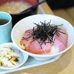 天茶屋 七蔵 - まぐろづけ丼