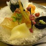 創作料理 鞆の浦 - おつくり4種盛り