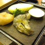 創作料理 鞆の浦 - 魚介石焼き