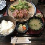 酒菜肉匠 ふるや - 料理写真:牛カツランチ