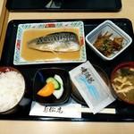 寿松庵 - さば味噌煮定食