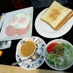 寿松庵 - トーストセット