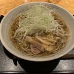 Enzou - 冷たい肉蕎麦