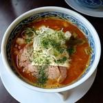 麺屋 八 - 料理写真:伽哩ラーメン