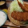 かつれつ飛鳥 - 料理写真:萌定食♪確か1000円でお釣りが来たかと…(*´ω`*)