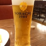 ニユートーキヨービヤホール - ソラチエースを使ったSORACHI 1984