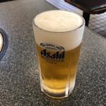 清花園 - 生ビール